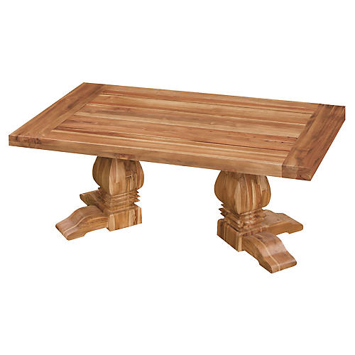 Tuscan Teak Coffee Table, Natural