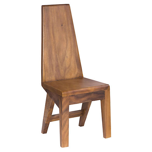 Moma Teak Dining Chair, Natural