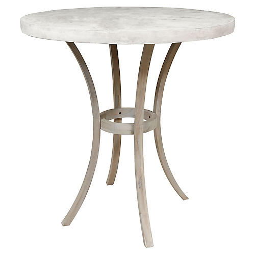 Bend Bistro Table, Gray