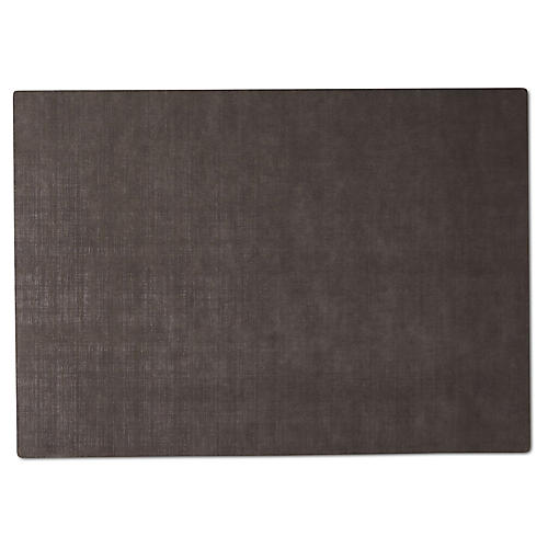 Spalmato Place Mat, Dark Gray