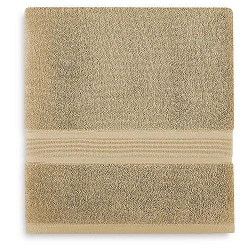 Icon PimaCott Bath Sheet, Latte