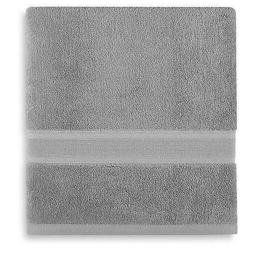 Icon PimaCott Bath Towel, Alloy