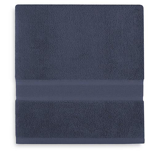Icon PimaCott Bath Sheet, Royal Blue