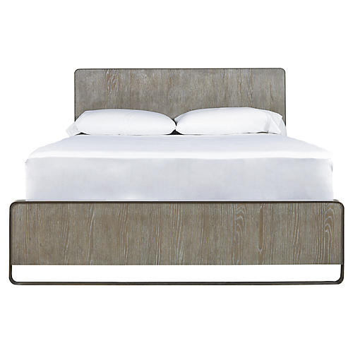 Keaton Platform Bed, Charcoal