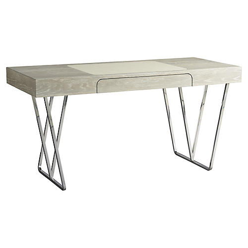 Zephyr Desk, Graywash