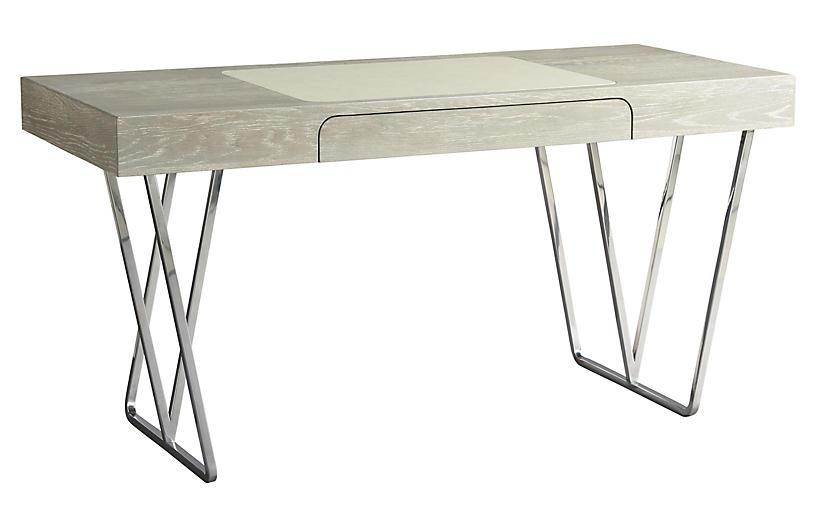 Zephyr Desk, Graywash
