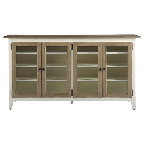 Caldwell Media Console, Natural