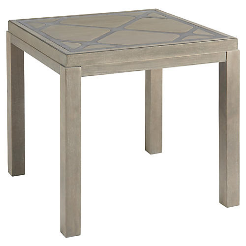 Griffin Side Table, Graystone