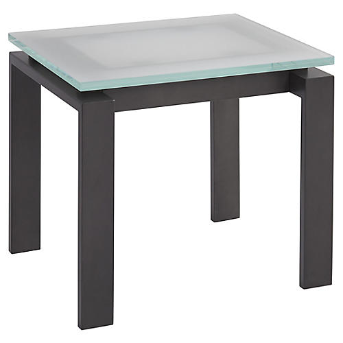 Vance Side Table, Frost