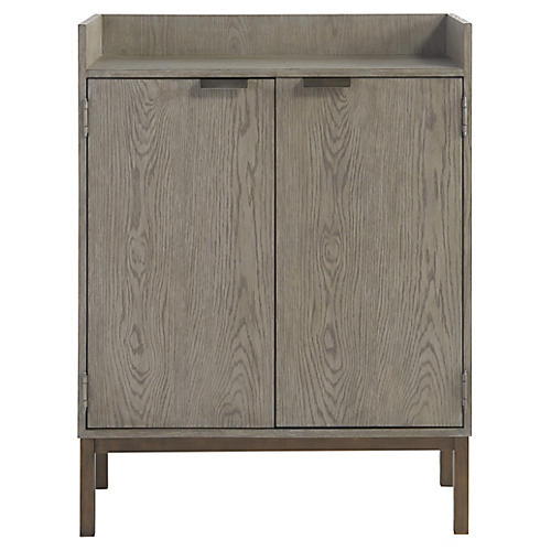 Lawson Bar Cabinet, Granite