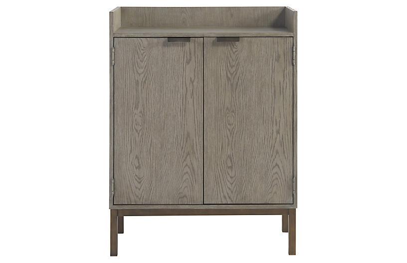 Lawson Bar Cabinet, Granite