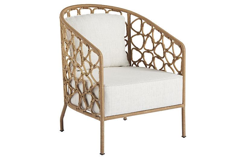 Coastal Living Charleston Accent Chair, Natural