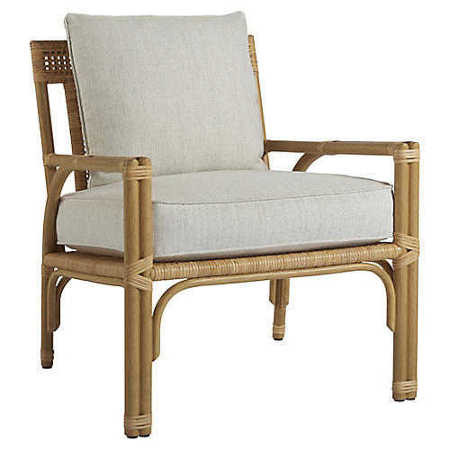 Sarasota Accent Chair, Natural