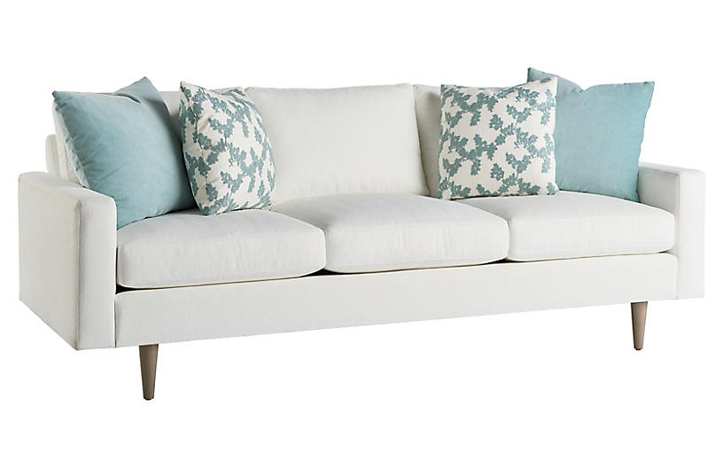 Brentwood Sofa, Off White