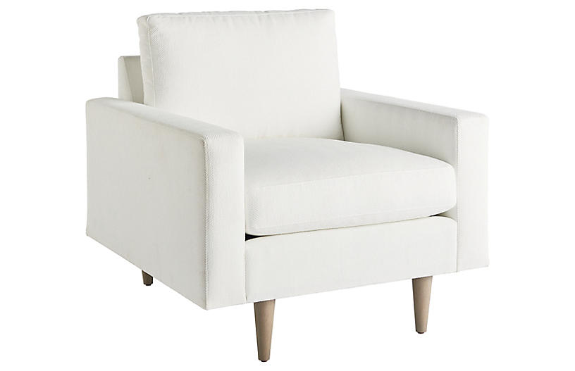 Brentwood Chair, Off White