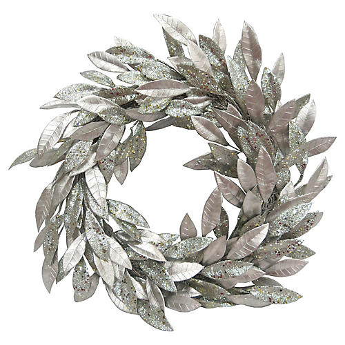 Leaves Wreath, Champagne