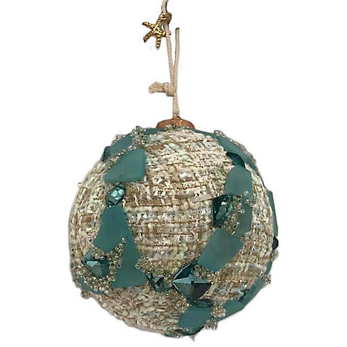 Seaside Ornament, Tan