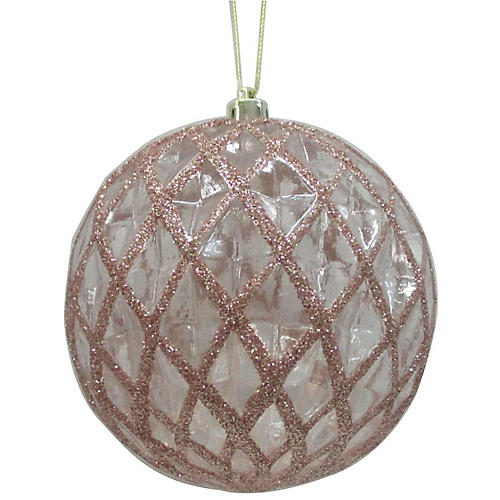 Pearlized Ornament, Blush