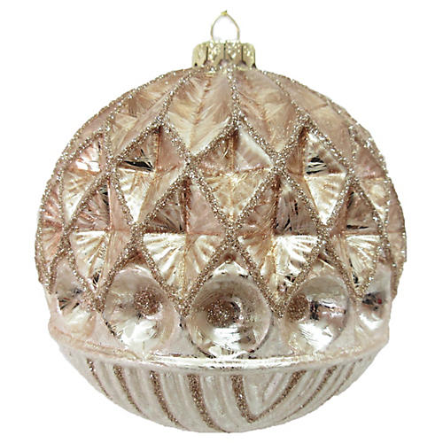Rosie Ornament, Blush