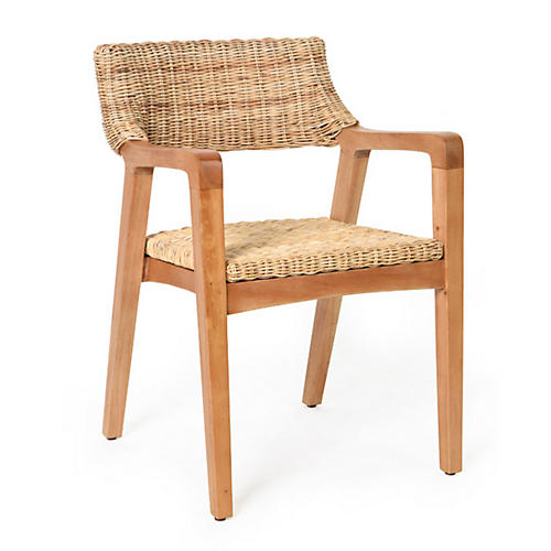 Ostler Armchair, Natural