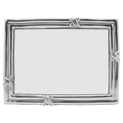 5x7 Love Knot Frame, Silver