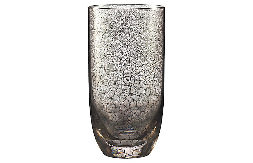 S/4 Crackle Tumbler, Platinum