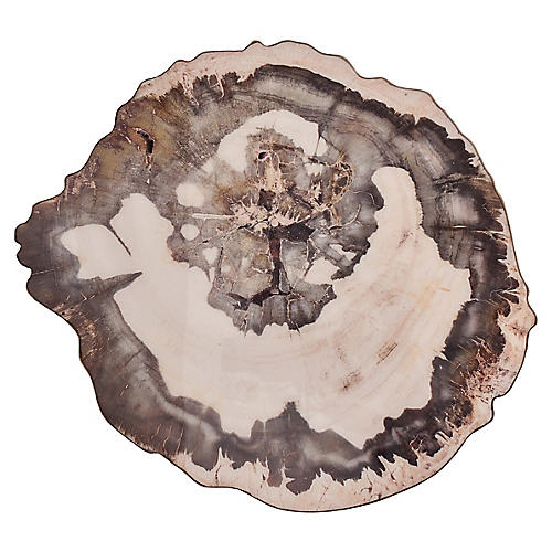S/4 Petrified Place Mats, Natura/Brown