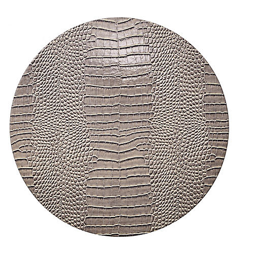 S/4 Everglade Place Mats, Taupe