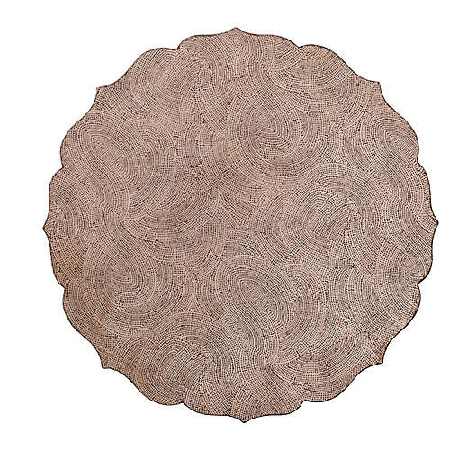 S/4 Tangier Place Mats, Silver