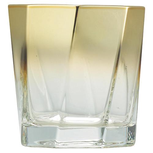 S/4 Helix DOF Glasses, Clear/Gold