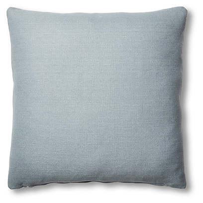 Hazel Pillow, Smoky Blue Linen