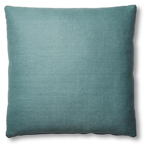 Hazel Pillow, Surf Linen
