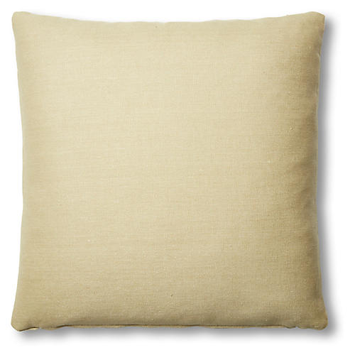 Hazel Pillow, Straw Linen
