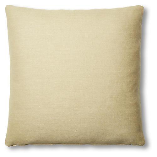 Hazel Pillow, Straw Linen