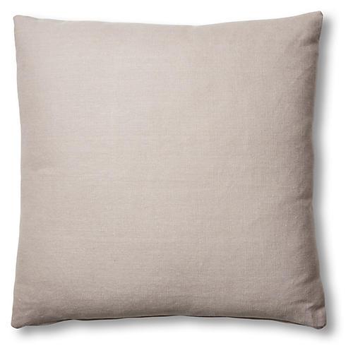 Hazel Pillow, Quartz Linen