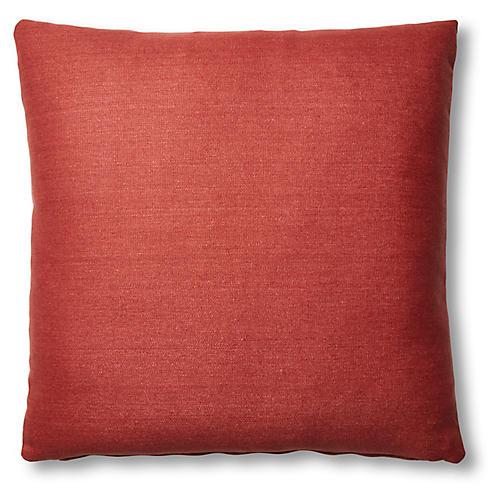 Hazel Pillow, Rust Linen
