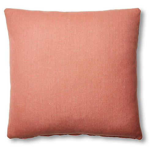 Hazel Pillow, Rose Linen