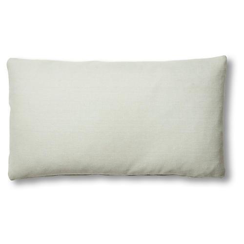 Ada Lumbar Pillow, Sea Glass Linen