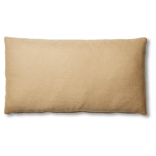 Ada Long Lumbar Pillow, Hemp Linen