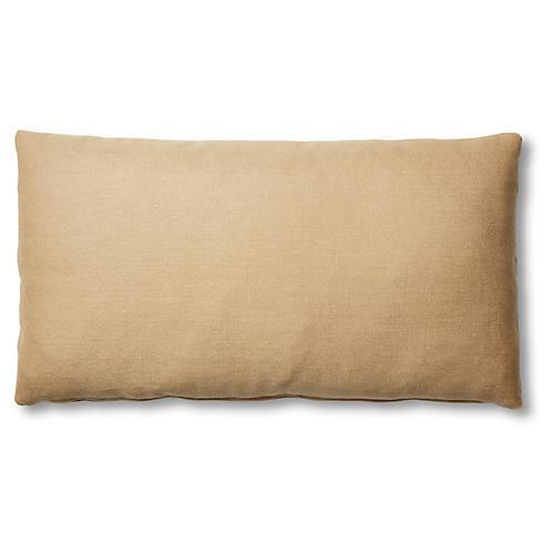 Ada Long Lumbar Pillow, Hemp Linen