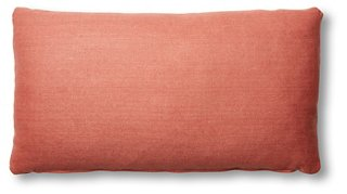 Ada Long Lumbar Pillow, Rose Linen