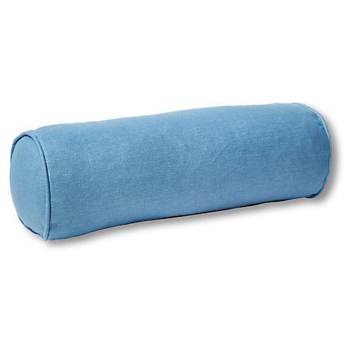 Anne Bolster Pillow, Chambray Linen