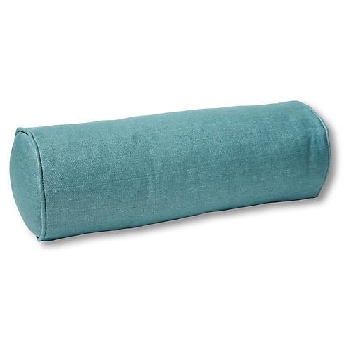 Anne Bolster Pillow, Surf Linen