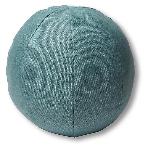 Emma 11x11 Ball Pillow, Surf Linen