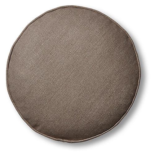 Claire 16x16 Disc Pillow, Earth Linen