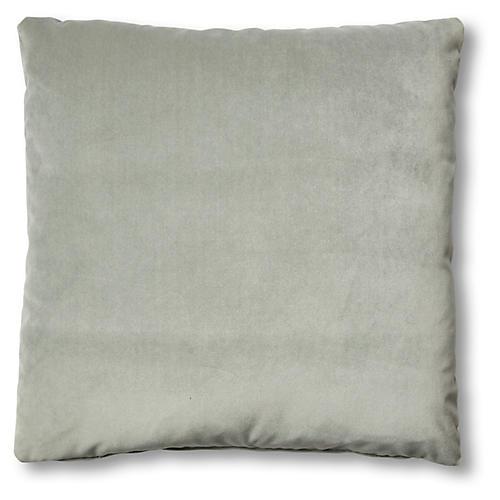 Hazel Pillow, Mineral Velvet