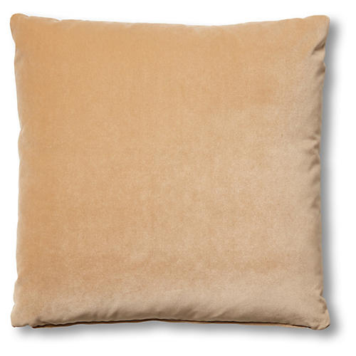 Hazel Pillow, Acorn Velvet