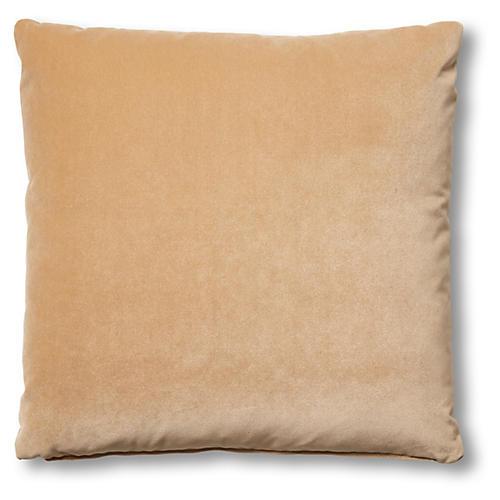Hazel Pillow, Acorn Velvet