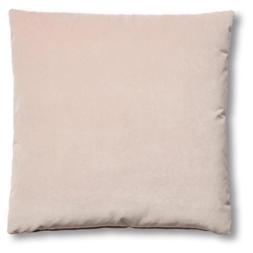 Hazel Pillow, Mauve Velvet
