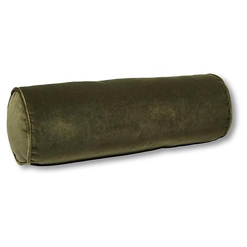 Anne Bolster Pillow, Balsam Velvet